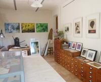 Blick ins Atelier, Foto: Sabine Voerster