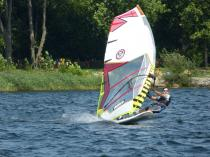 Surfen auf dem Senftenberger See