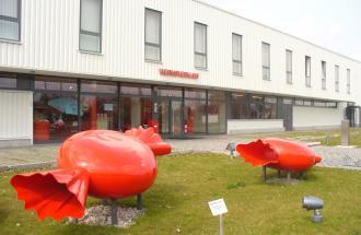 Die Gläserne Bonbonfabrik, Foto: terra press Berlin